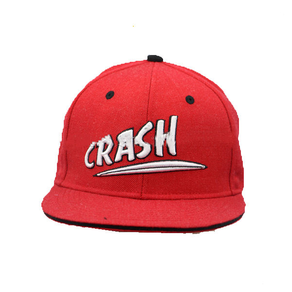 Red Adjustable Cotton Baseball Cap Hat