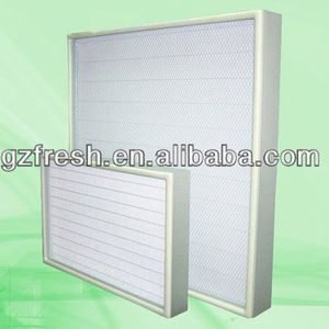 Mini-pleat Ultra ahu Air filter/ulpa air filter for sale manufacture