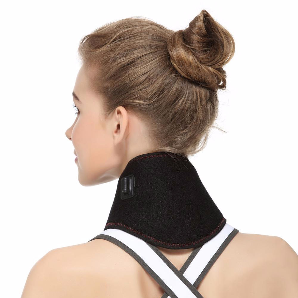 Soft And Supremely Comfortable Nature Heating Neck Support For Pain Relief