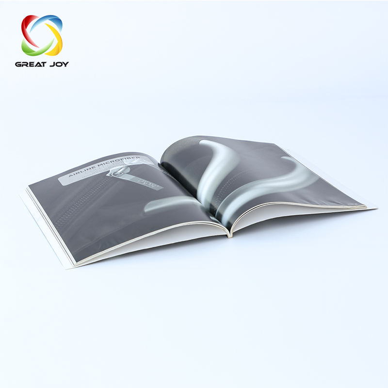 recycled colorful catalogue and fashion customized brochure printing