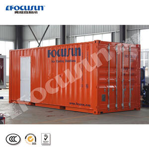 High quality containerized 5 tons flake ice machine
