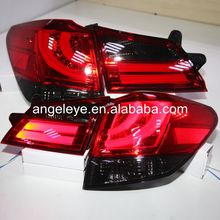 2010-2013 Year For Subaru for Outback LED Tail Lamp Rear Lights Red Black color For BMW style LF