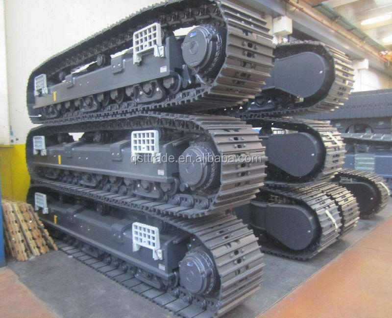 1ton to 60tons rubber tracked/steel tracked crawler undercarriage