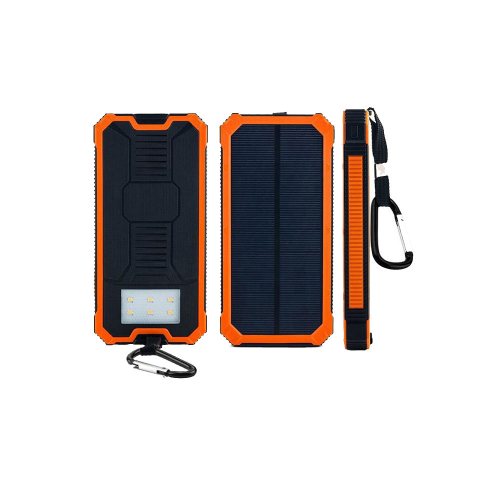 Solar Power Bank 20000 미리암페르하우어 20000 미리암페르하우어 Mulit Function Mobile 휴대용 폰 Dual Usb Ports Solar Power Charger Power Bank