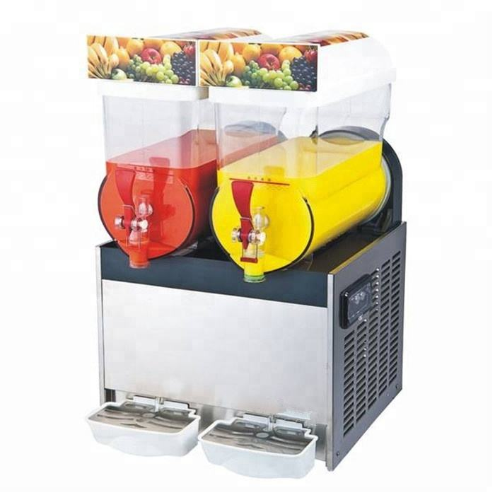 Slush Making Machine 15L x 2 Tanks Snow Frozen Drink Slushy Smoothie Maker