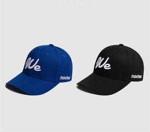 Fashionable Customized Promotional 100% Cotton 6 Panel Cheap Baseball Caps