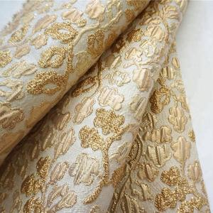 yuhang metallic jacquard fabric for dress fabric garment fabrics