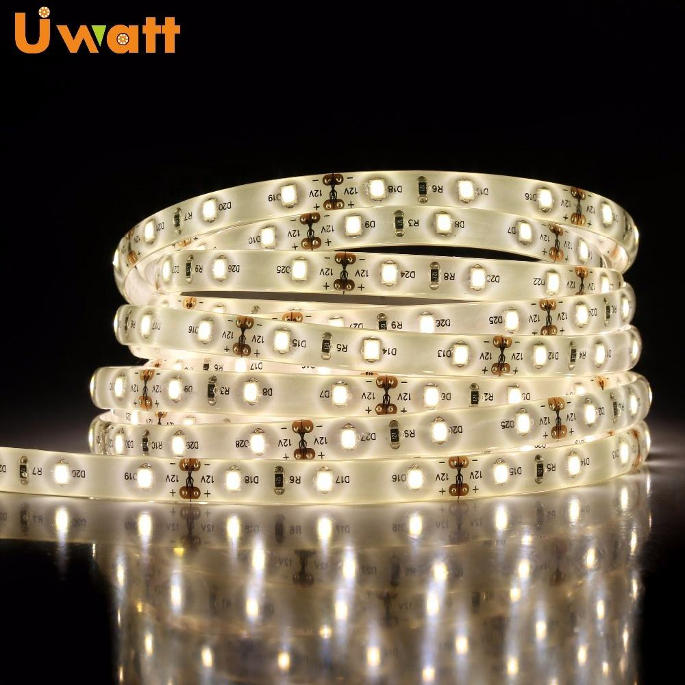 High-quality Custom 12v 24 v 2835 5630 5050 3528 2216 3000K 4000K 6000K Waterproof 5 M Cuttable Us Light SMD White LED Strip