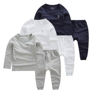 New Design Kids Boy Wear Child Plain Spring Clothing Sets Of Online Shopping