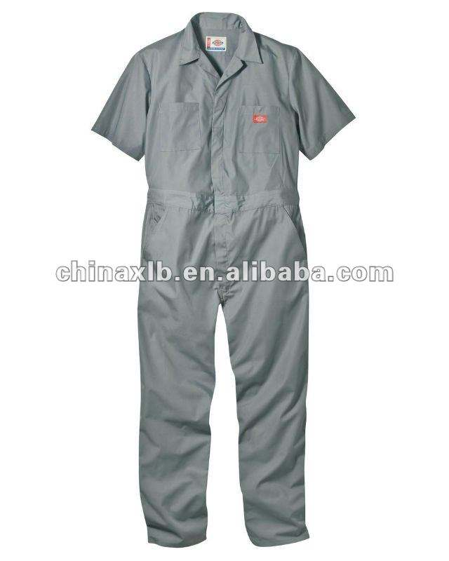 Dickies workwear लघु आस्तीन coverall