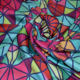 New Hot Colorful Custom Pattern 3D Printed Thai Silk Fabric For Fabric Factory China