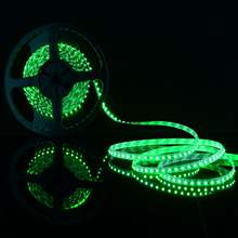DC 12V 60LEDs/m 5m Green 5050 SMD LED strip lights IP20 for Wedding Party Holiday Indoor LED Lighting