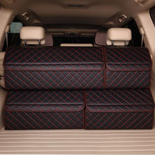 Foldable Small Storage Folding Small Car Trunk Organizer Car Door Storage Pockets