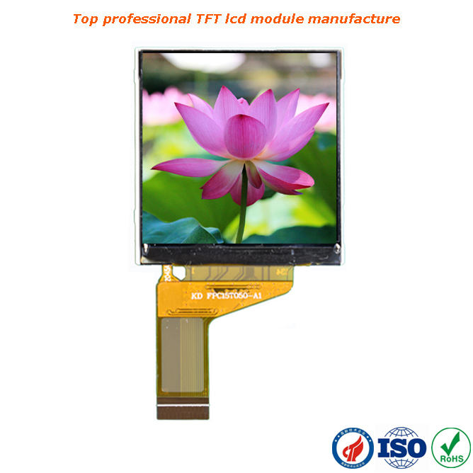 Venda quente 25 pin 1.54 polegada tft lcd ips 240x240 com interface spi