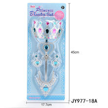 Shantou Factory New Model Magic Stick And Princess Crown Headband Set
