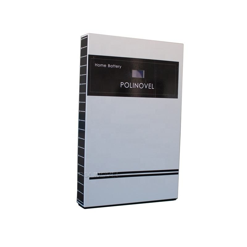 Polinovel 8.3kwh Power Lithium Ion 48v Storage Li-ion Bank Generator Li Lifepo4 Battery Solar System