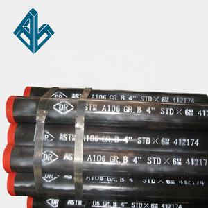 ASTM Sa 192 sch 120 seamless carbon black seamless steel pipe water tube boiler pipe for price list