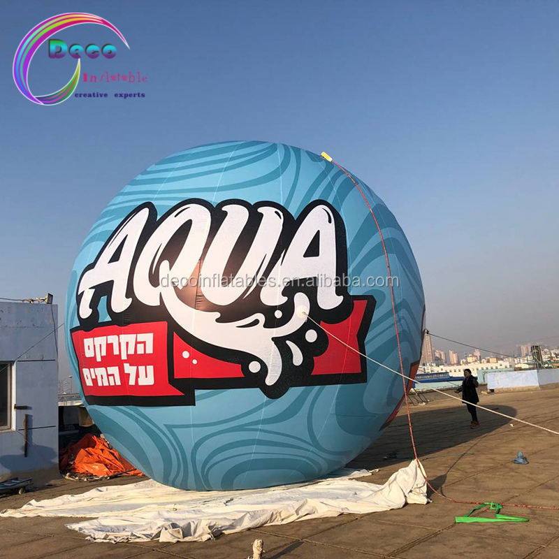 Customized Advertising Logo Printing Inflatable ball Sphere