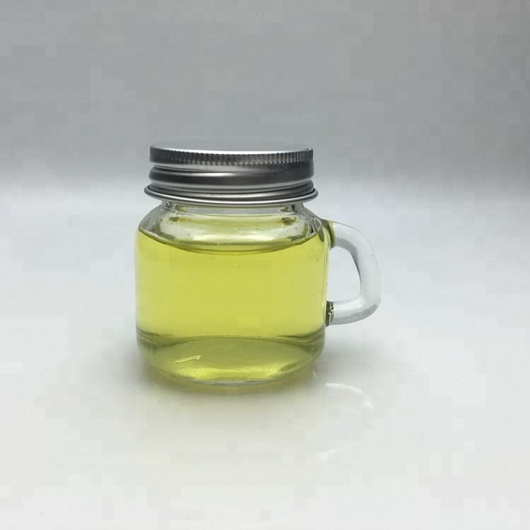 Transparent 2oz 50ml mini mason jar with handle for fruit jam