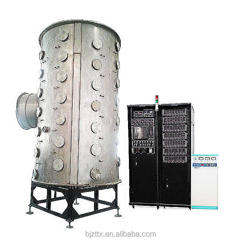 Large multi arc ion spray vacuum pvd stainless steel decorative machine