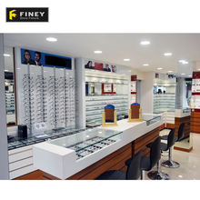 Optical Shop Counter Design Eyewear Glasses Counter Display Showroom