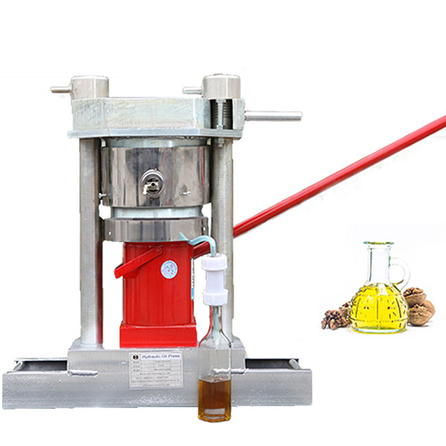 Popular manual hydraulic sesame seed oil press machine/cocoa bean oil presser for sale