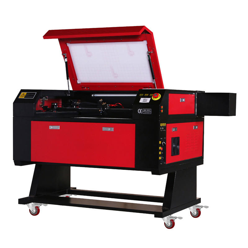 Beste Vevor 80W CO2 Laser <span class=keywords><strong>Snijmachine</strong></span> 700*500 Mm Met Roterende As 3d Laser Graveermachine