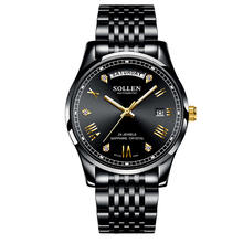 SOLLEN mechanical watches men luxury fashion watches wholesale automatic wristwatch waterproof