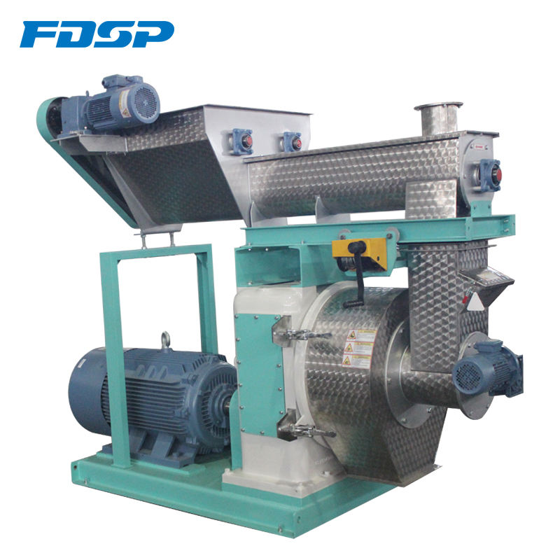2018 Hot sale high quality biomass wood grass pellet making machine price