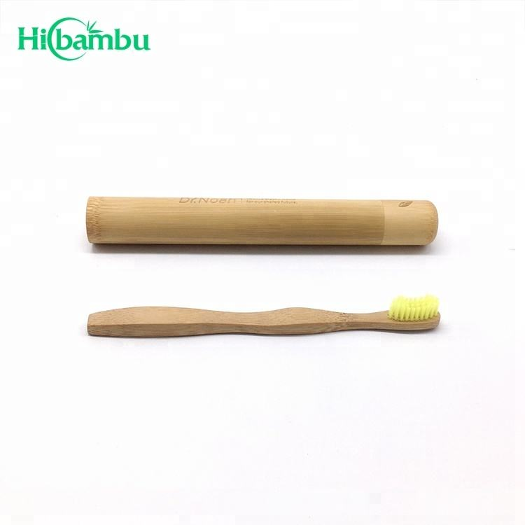 Eco-Friendly 100% Biodegradable Charcoal Bamboo Toothbrush in pack 4