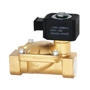 Automatic control system adapted to a variety of DC/AC normally open/ closed drive/servo type refrigeration water solenoid valve