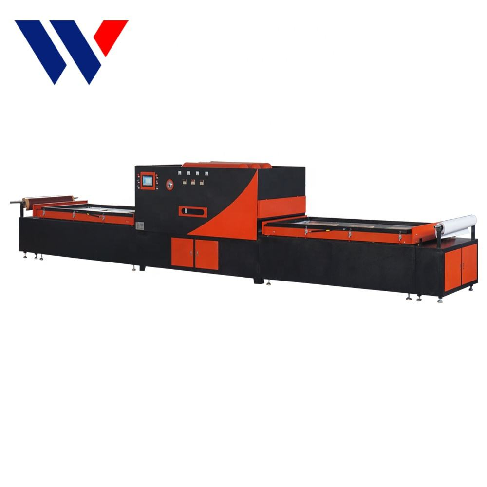 Woodworking MDF Wood Door Surface Vacuum Laminated Press PVC Machine