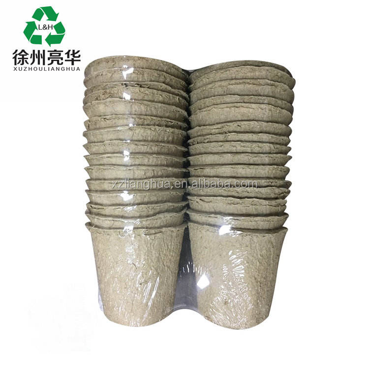 Environment Germination Biodegradable Pulp Paper Panting Seed Tray