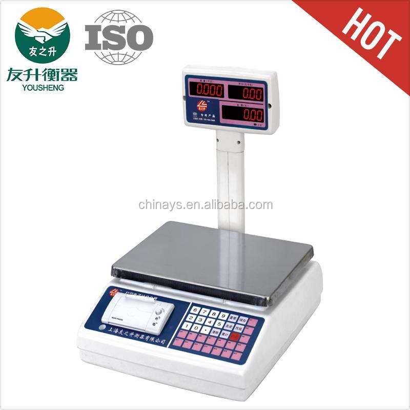 YS-PS weight scale printer High Quality,high sales and Easy Operation,Super long standby