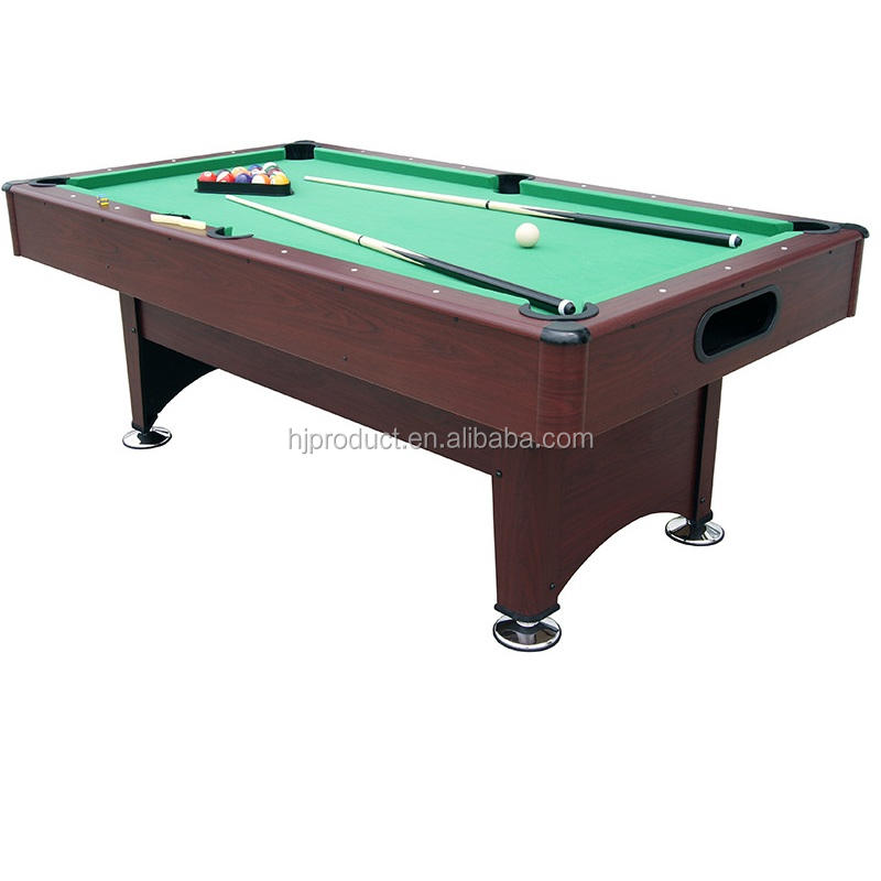 Factory 6ft MDF indoor family use 9 ball 16 ball Snooker Billiard Pool table