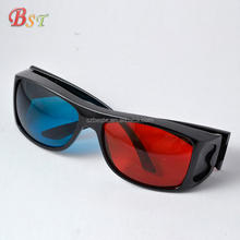 High quality factory price plastic anaglyphic red cyan red blue 3d glasses