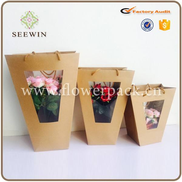 Flower Bouquets Packaging Flower Delivery Packaging Flower Sleeve Bag
