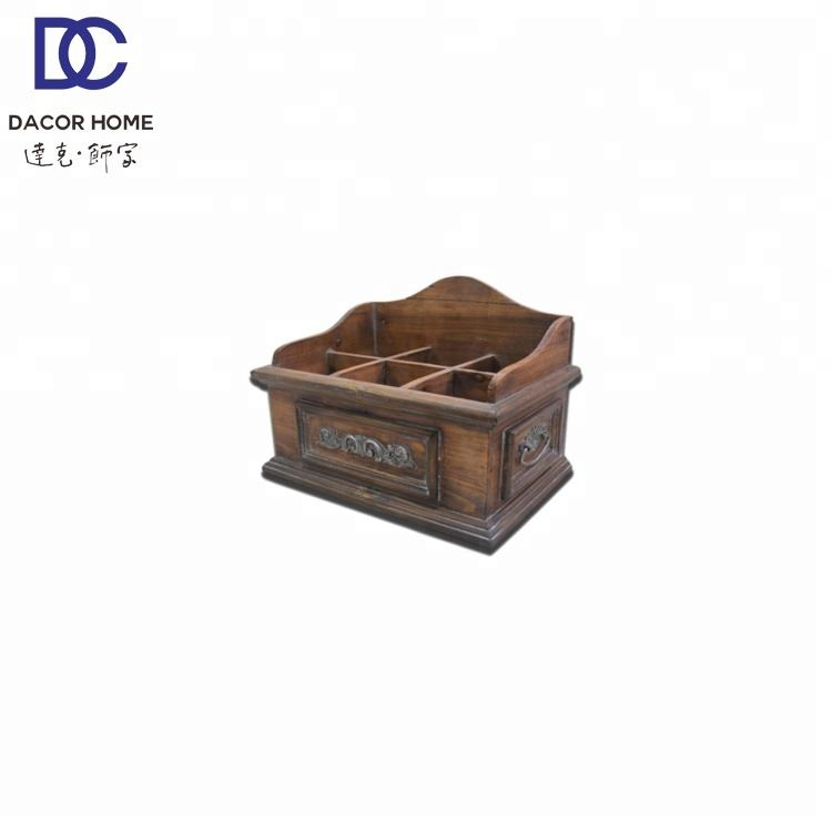 Home Furniture Alaw Tabletop Wooden Jewelry Crate