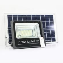 IP65 outdoor waterproof 100w stage sport energy saving aluminum ground portable led solar flood light