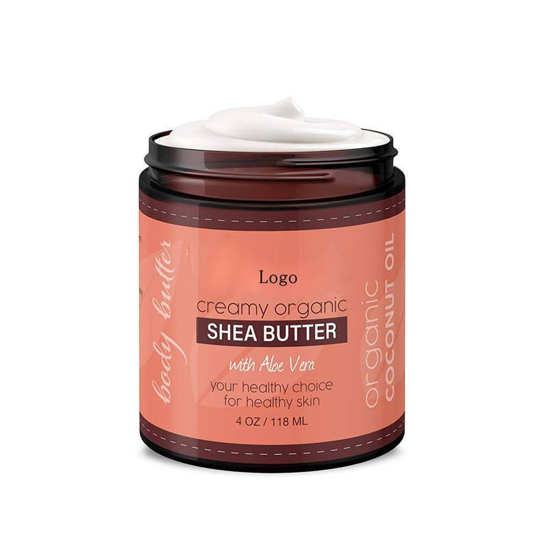Private Label Shea Body Butter & Coconut Oil with Aloe Vera & Vitamin E Body Moisturizer Body Lotion