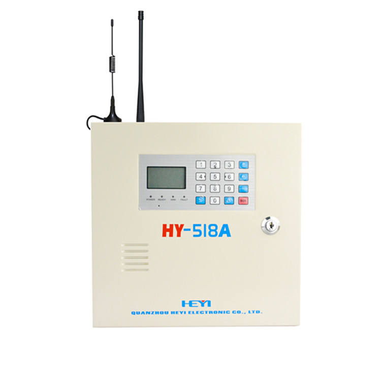 Wireless wireless burglar security gsm ระบบ LCD หน้าจอสำหรับ bank/shop HEYI
