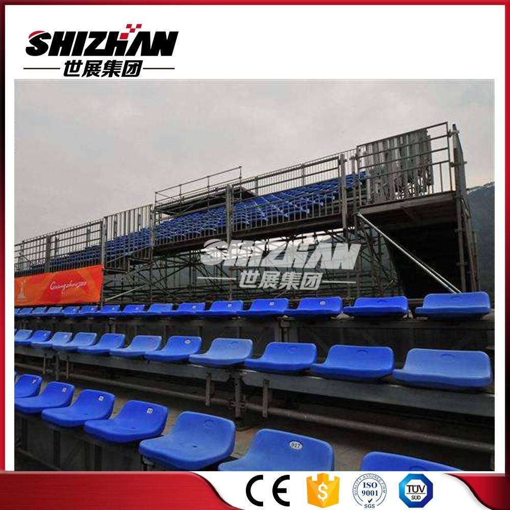 Fonte da fábrica de alumínio/aço arquibancada <span class=keywords><strong>portátil</strong></span> assento para eventos ao ar livre