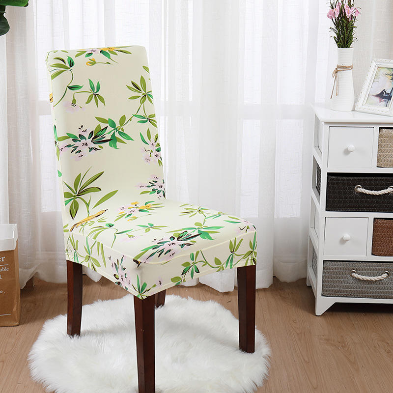 RTS spandex Quality Chair Cover,2019 HOT SALE pattern Chair Cover made in china