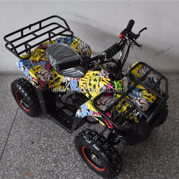 CE 50cc 2 stroke mini kids ATV 49cc cheap gas four wheeler for kids