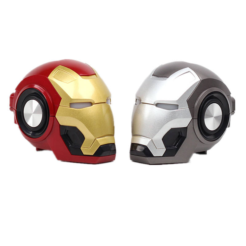 Wholesale Portable USB charging Iron Man Profile Car Speaker Mini Wireless Speaker