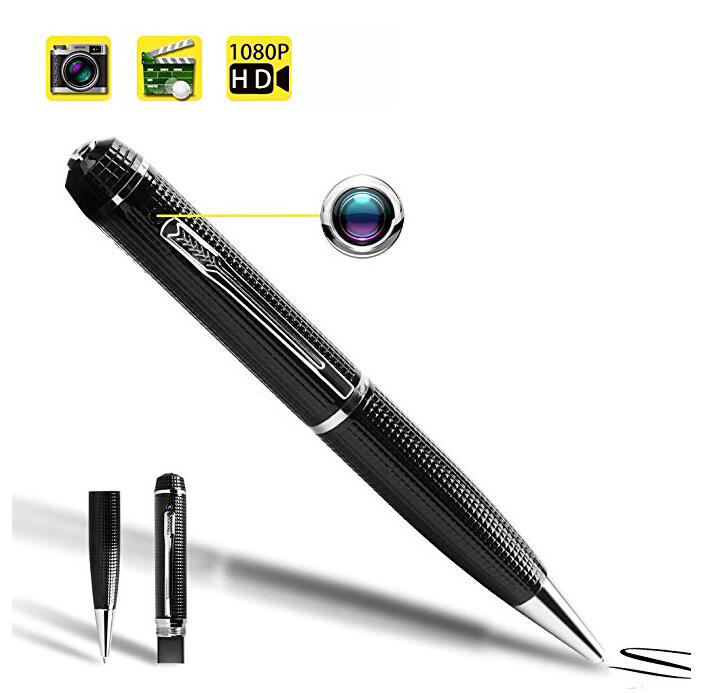 Spy Pen Camera HD 1080P Hidden Camera Pen with Night Vision, Mini Portable Video Recorder