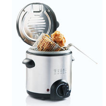 600W 0.5L XJ-8K119 deep fryer with fondue set optional new mini deep fryer 2018