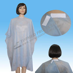 Disposable Non woven PP Hair Cutting Capes for beauty salon home