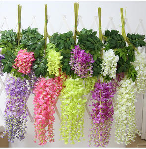 yiwu artificial wisteria flower