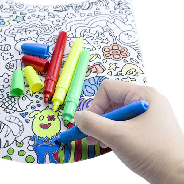 Non-Toxic 26colors Textile Permanent Marker Pen Set, Non-Washable Fabric Permanent Maker Pen For Drawing on Fabric and Textile